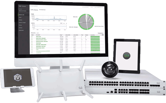 Cisco Meraki product range
